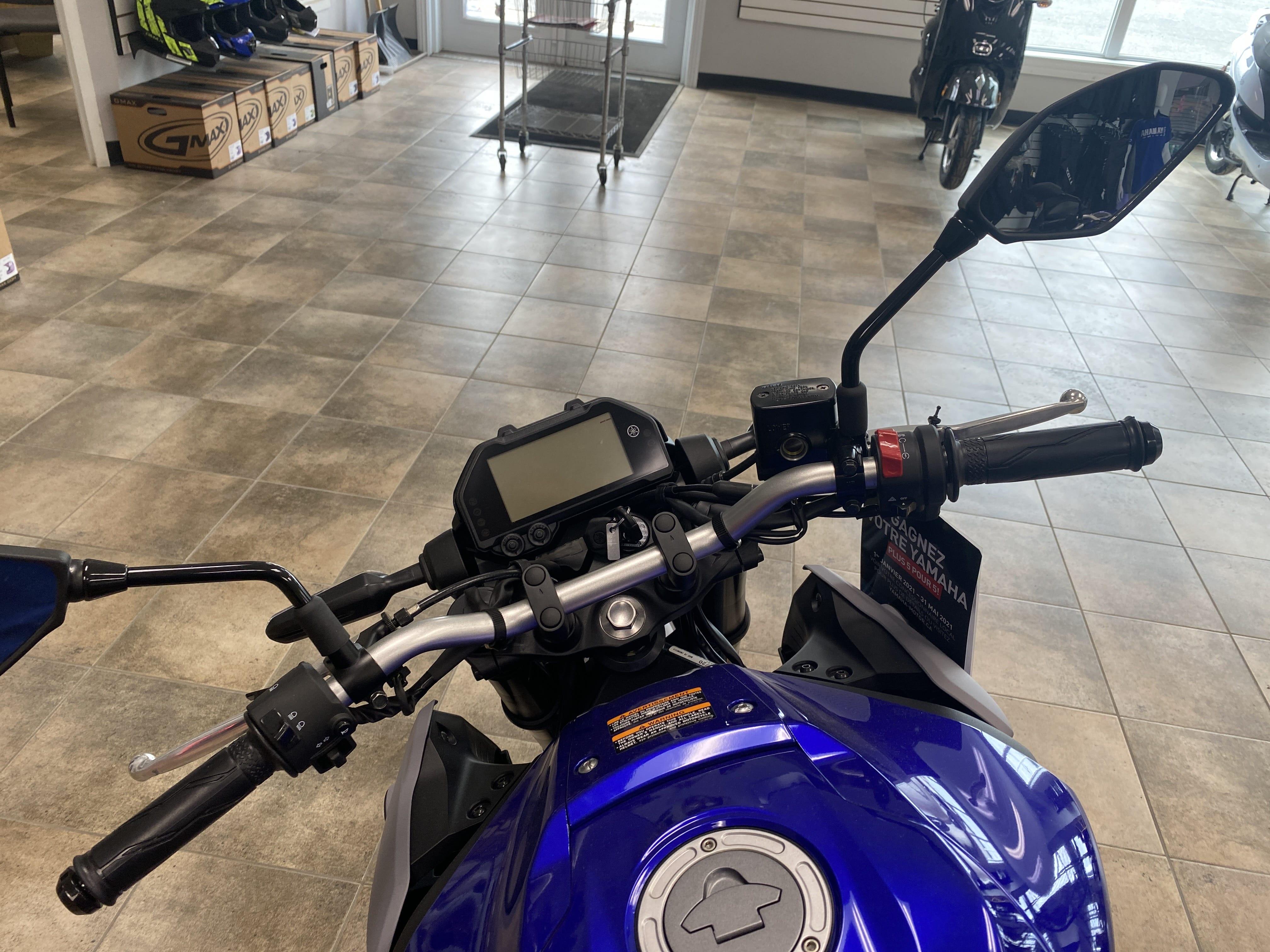 Boutique de la moto a Matane2021 YAMAHA MT03AML