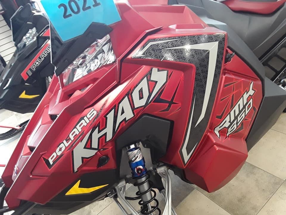 Boutique de la moto a Matane2021 POLARIS 850 RMK KHAOS 155 2.6
